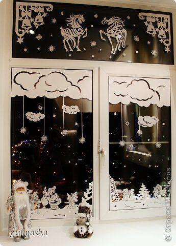 Новогодние окна....