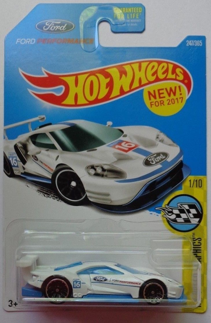 2 2017 Hot Wheels Hw Speed Graphics 1 10 2016 Ford Gt Race 247