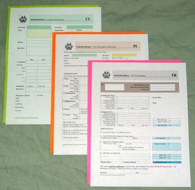 pet sitting information sheet horse boarding sample invoice house