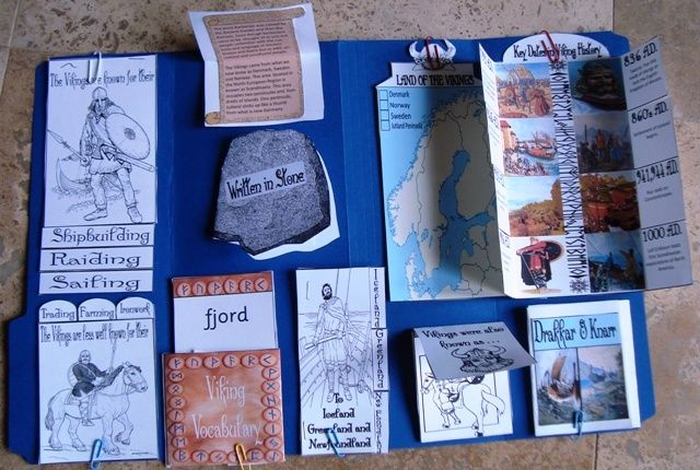 Vikings Lapbook Also contains tons of great information and images!