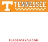 Tennessee Volunteers Banner 8' x 2'