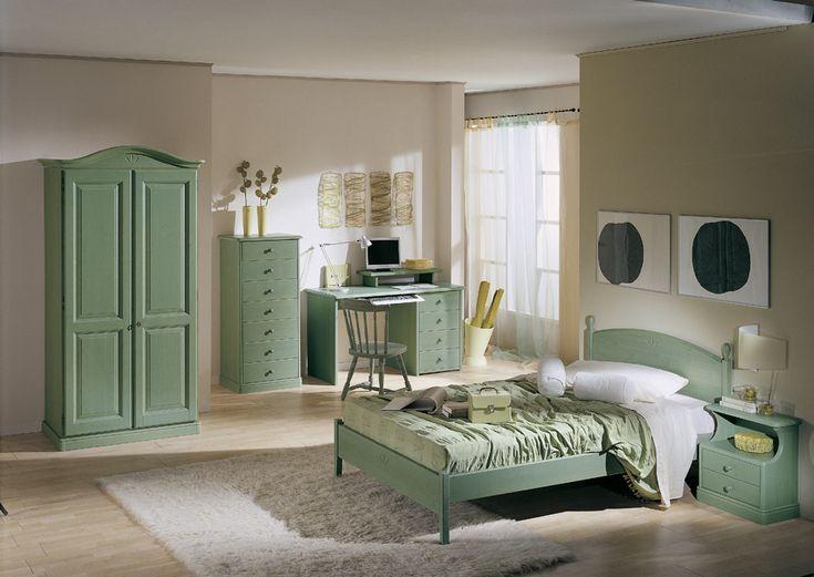 scrivania in camera da letto : Letto singolo con cassettiera e sponda - Le civette sul Com? - design ...