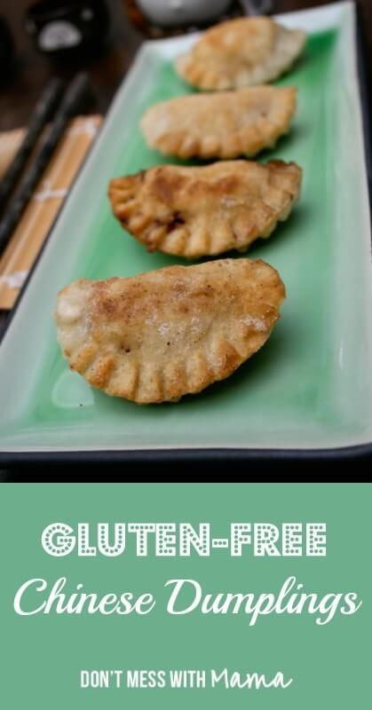 Gluten-Free Chinese Dumplings - DontMesswithMama.com