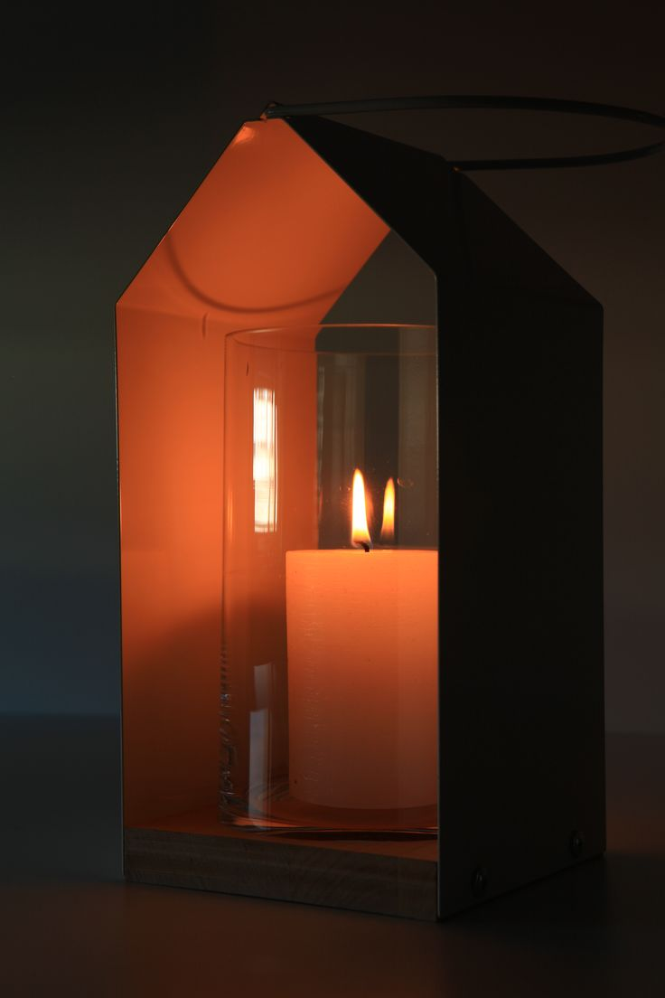 Scandinavian lantern made by neo spiro