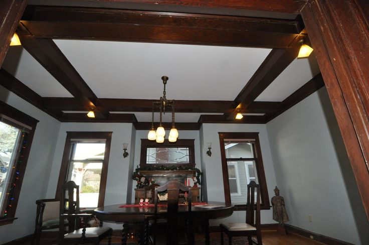 Alternate box beam ceiling diy pinterest beam for Box beam ceiling