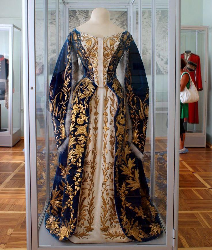 Russian 19th c . court dress