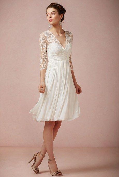 Short Destination Wedding Gowns