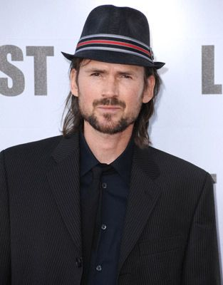 jeremy davies - spotted at the chateau marmont...