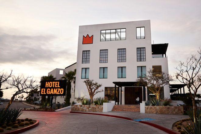 #Cabo Hotel El Ganzo