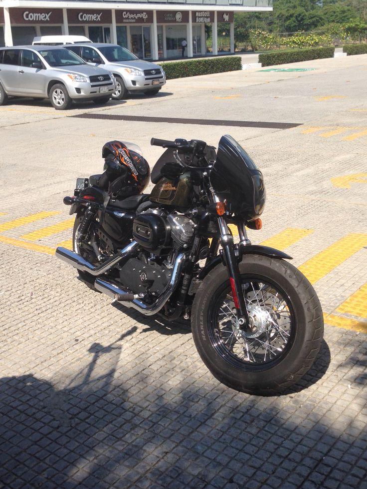 Forty Eight, sportster, Harley Davidson , windshield