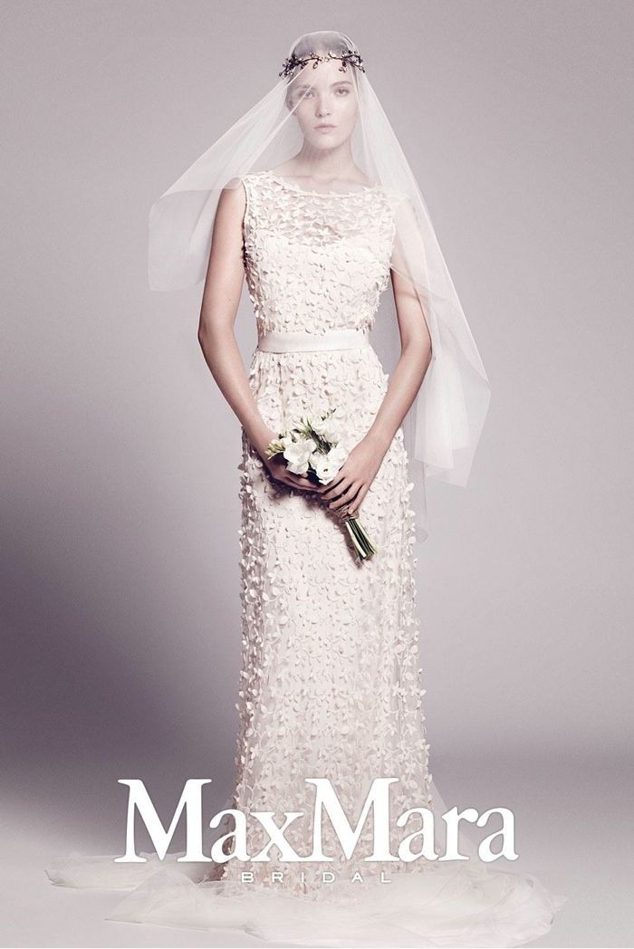 A look from the Max Mara fall-winter 2015 bridal collection