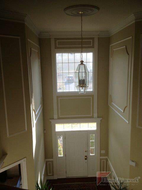 Foyer Chandelier Jr : Best door headers images on pinterest moldings crown