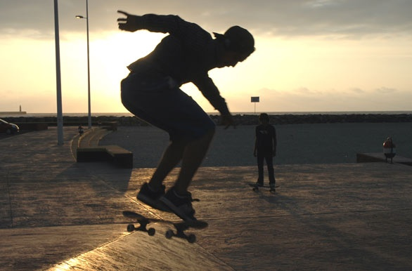 Skateboarding - Antofagasta, Chile. http://bit.ly/4FRgBx