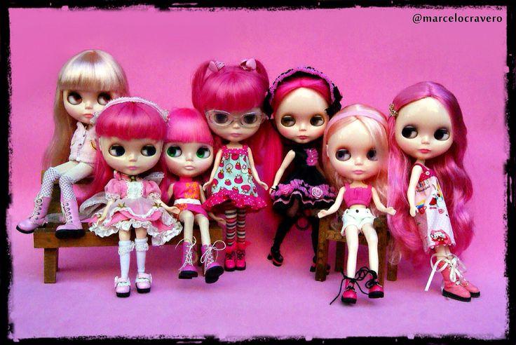 Think Pink! #blythe