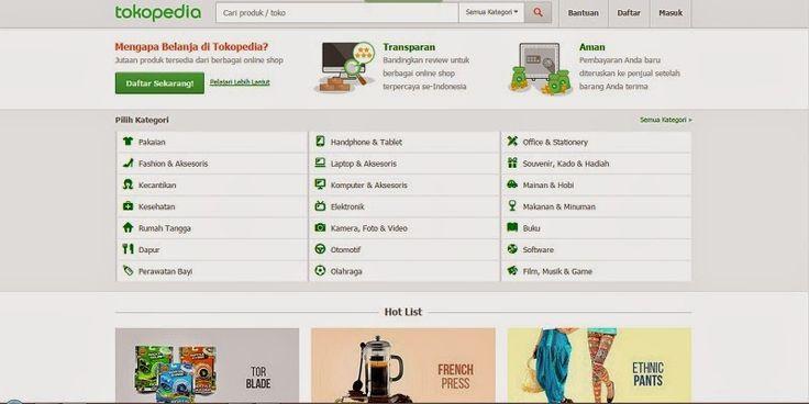 Review: Pengalaman Berbelanja Online di Situs Jual Beli Tokopedia