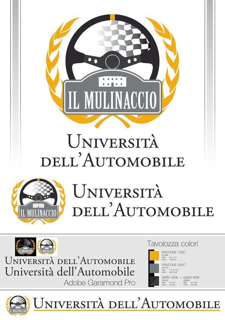 Logotipo Università dell'auto - Villa il Mulinaccio