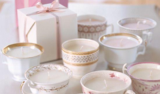 Originales velas con un toque vintage para el Día de la Madre