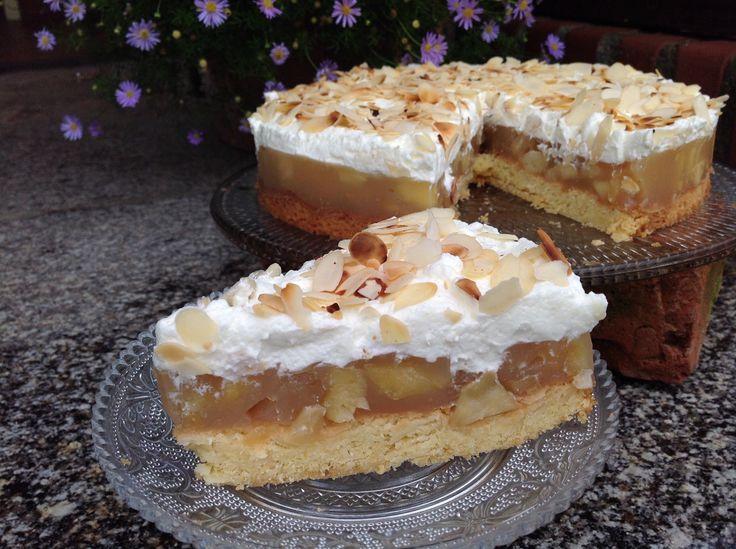 Apfel-Mandel-Torte