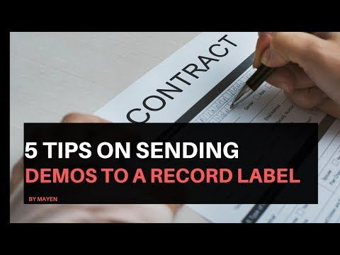 how to send demo cds to record labels
