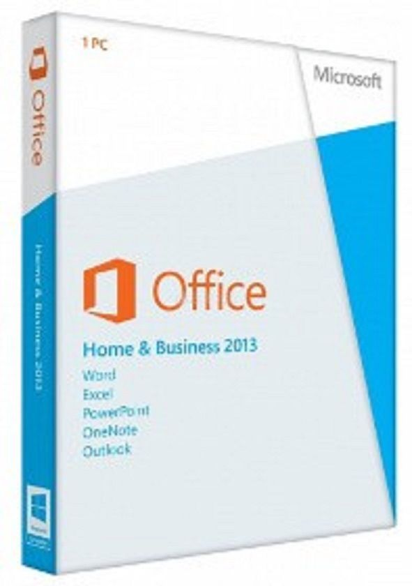 Microsoft Office 2013 Home and Business 32/64 Bit Vollversion