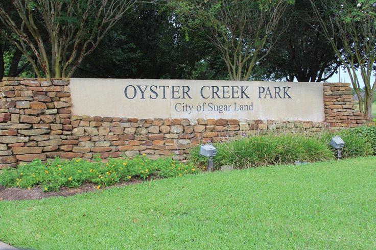 Oyster Creek Park Sign