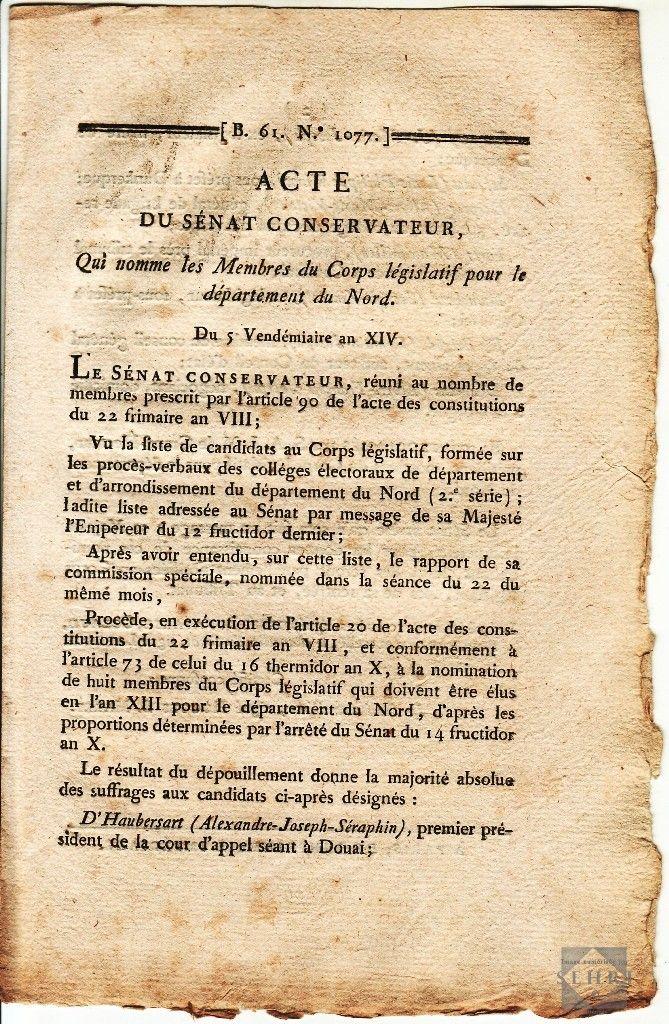 Epingle Par Societe Des Etudes Historiques Sur Archives En Ligne Le Nord De 1789 A 1815 Liste De Nombre Nord