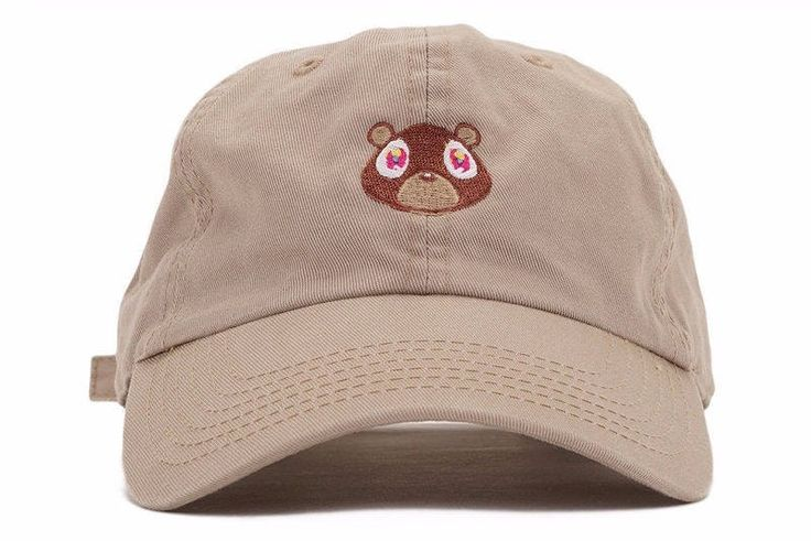 Kanye West Ye Bear Dad Hat by Wild Rose Store Free Worldwide Shipping