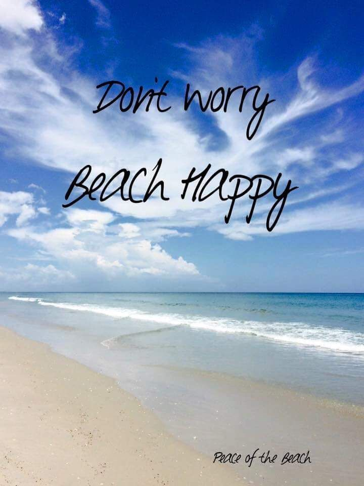 Beach happy meme don't worry