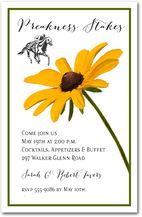 Black-Eyed Susan Stem #Preakness #Party #Invitations