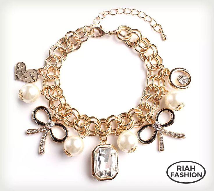 Cute Charm Bracelets - 4 Styles - $4.99. https://www.bellechic.com/deals/02137c021e67/cute-charm-bracelets-4-styles