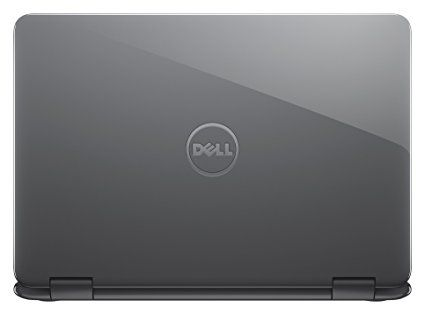 Dell i3168-0029GRY 11.6″ HD 2-in-1 Laptop-Gray  Screen Size-11.6 inches  Max Screen Resolution-1366×768 pixels  RAM-2 GB DDR3L SDRAM  Hard Drive-32GB eMMC  Number of USB 3.0 Ports-1  Operating System-Windows 10  Color-Foggy Night  Hard Drive-32GB eMMC