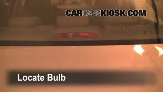 Third Brake Light Bulb Change Hyundai Sonata (2006-2010) - 2007 Hyundai Sonata Limited 3.3L V6