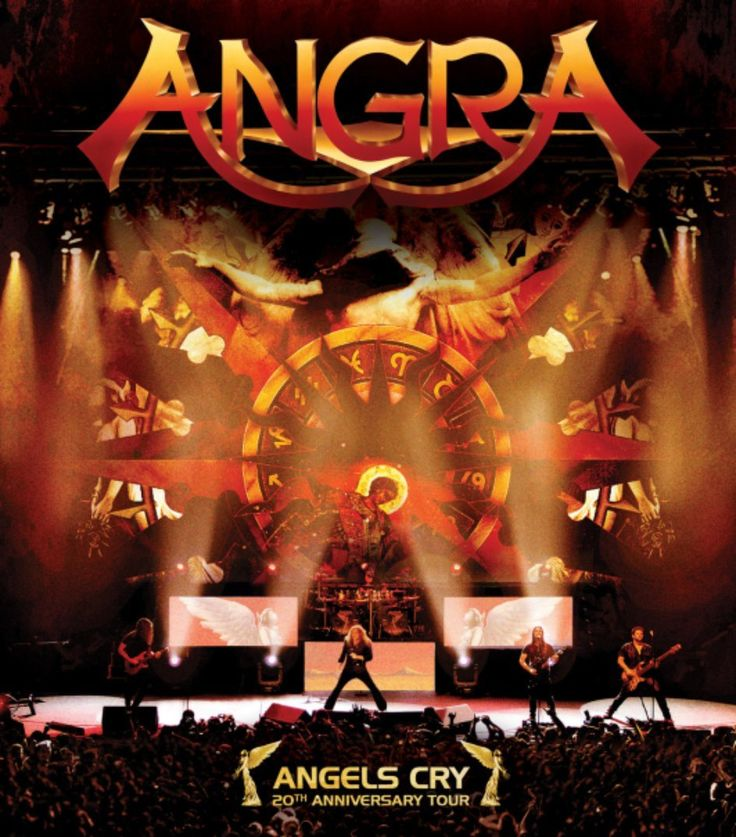 Angra [Angels Cry 20th Anniversary Tour]. 2013.
