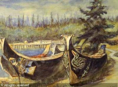 Emily Carr's painting <3