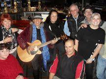 Ralph Bennett . Rotorua Blues Festivle . ( Irish Bar ) 2014 .