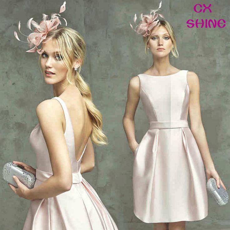 Custom made color & size!Pink Elegant Mini evening dresses prom dresses,party gown De Festa Festival dress woman plus size