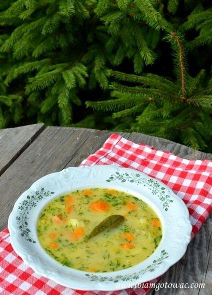 Uwielbiam gotować: Zupa z selera naciowego