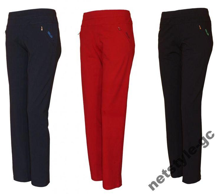 Super damskie spodnie dresowe bawełna KOLORY 52/54