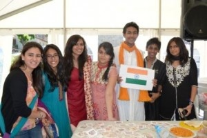 Students representing India. #IBWSC12 #Segovia
