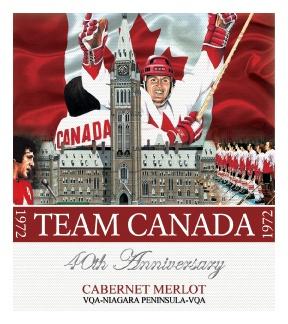 Team Canada 40th Anniversary labels by DANIMA