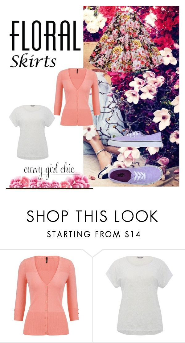 """""""Curvy Girl Chic"""" by yay-yay-hernandez ❤ liked on Polyvore featuring maurices, M&Co, Vans, contestentry and PVCurvyChic"""