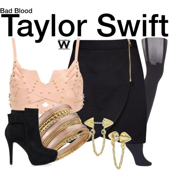 Inspired by Taylor Sift in her 2015 Bad Blood music video - Shopping info!