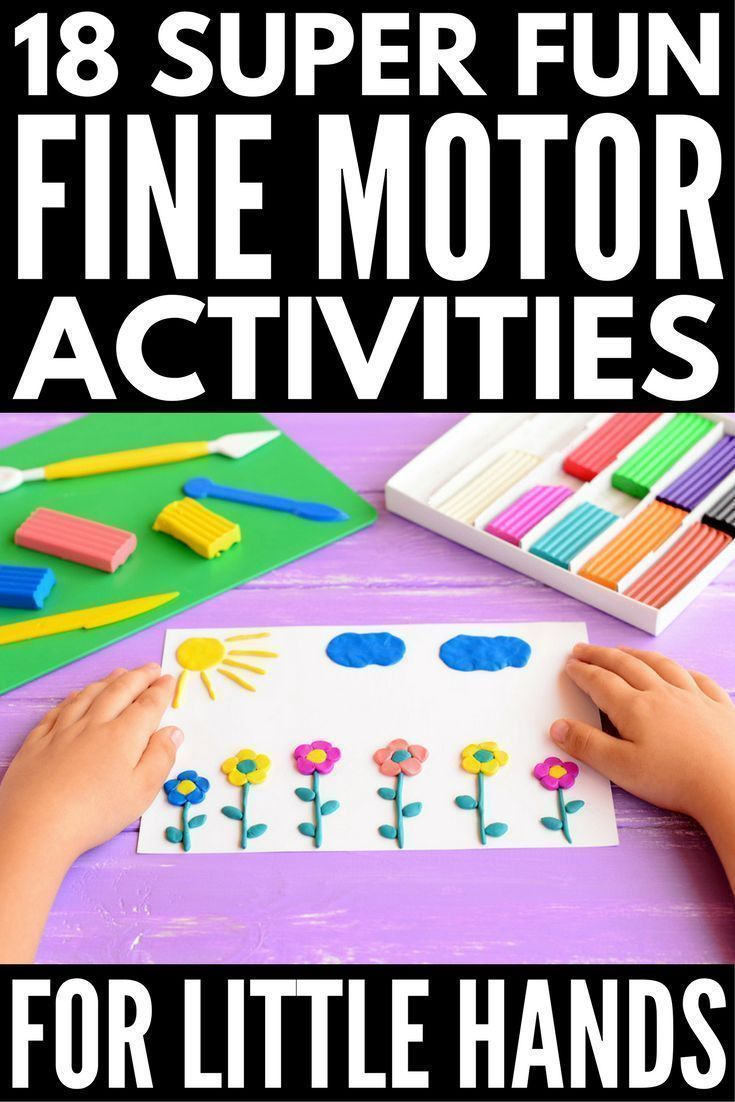 Looking for fine motor activities for kids? Whether you're the parent of toddlers or kids in preschool, kindergarten, or grade 1 and beyond, the teacher of a child with #autism or other special needs, or need some occupational therapy inspired activities to help develop handwriting skills and self-care tasks like buttoning buttons and zipping zippers, we've got 18 fun ideas to help strengthen the muscles in the hands, fingers & wrists! #finemotorskills #finemotoractivities…