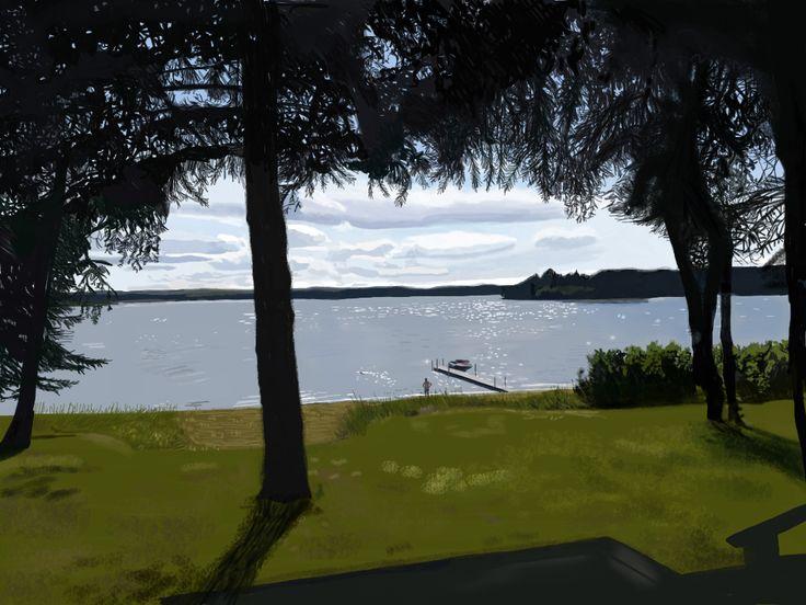 Sunny Saturday, Kenosee Lake