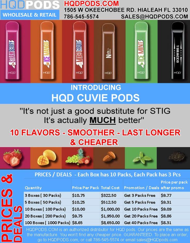 HQD CUVIE PODS (HQDCUVIEPODS) on Pinterest