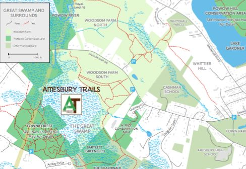 Amesbury Trails - Amesbury Town Forest