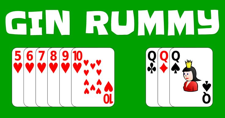 Play the classic card game Gin Rummy online for free.