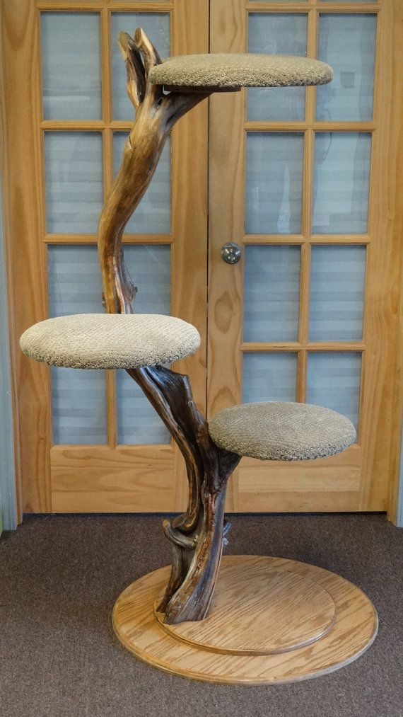 (diy) shiitake cat tree by happiestcat on Etsy
