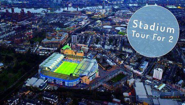 London: Chelsea FC: Stamford Bridge Stadium Tour for Two, £29 https://twitter.com/LondonOffers_/status/704370833611956225