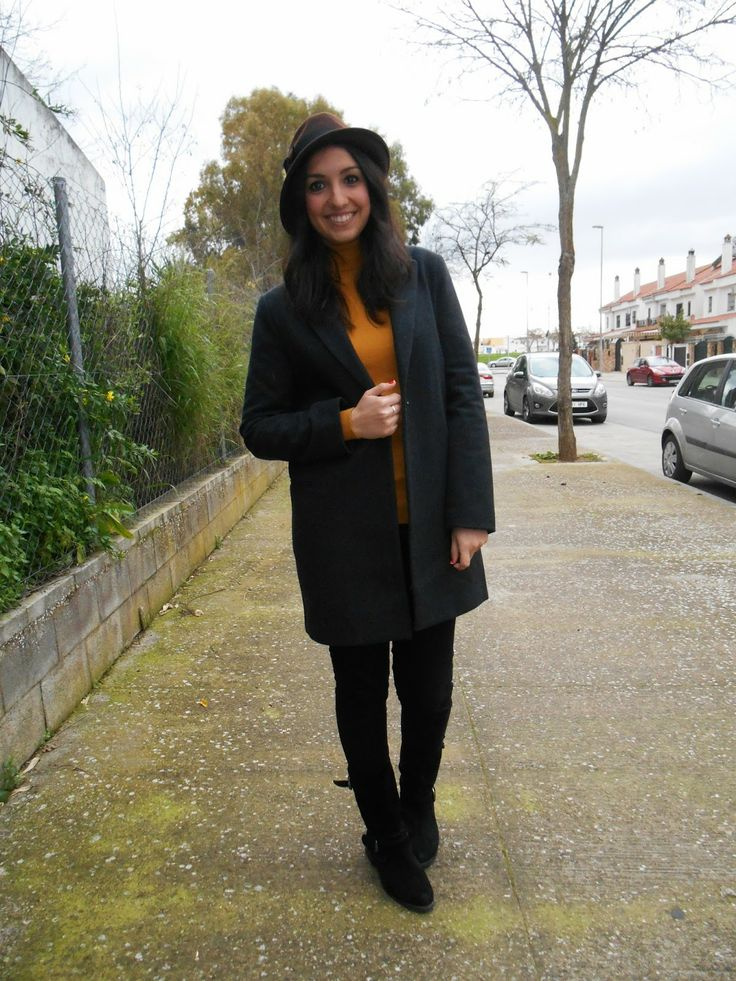 http://unachicasual.blogspot.com/2014/02/gangster-style.html  sombrero, borsalino, hat, coat, abrigo, look, fashion, fashionblogger, blogger, ootd, moda, streetstyle, inspiration